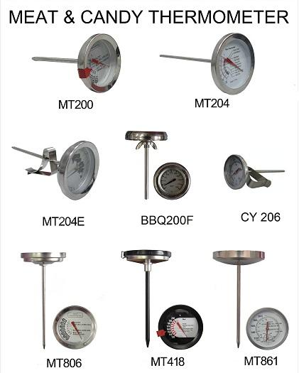 Thermometer for BBQ Grill & Turkey Pot